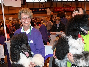 Jeeves at Crufts